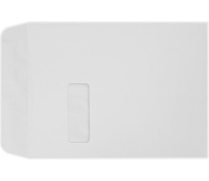 9 x 12 Open End Window Envelopes 28lb. Bright White