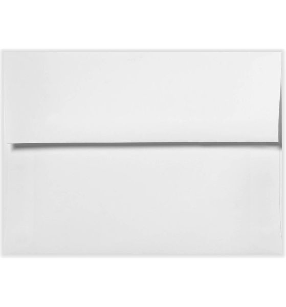A6 Invitation Envelopes (4 3/4 x 6 1/2) 70lb. Bright White