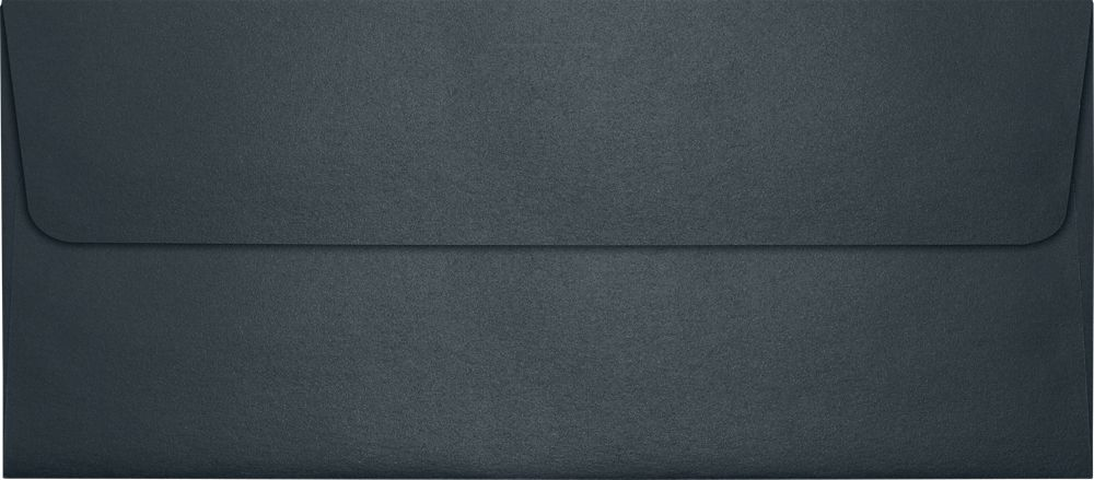 #10 Square Flap Envelopes (4 1/8 x 9 1/2) Anthracite Metallic