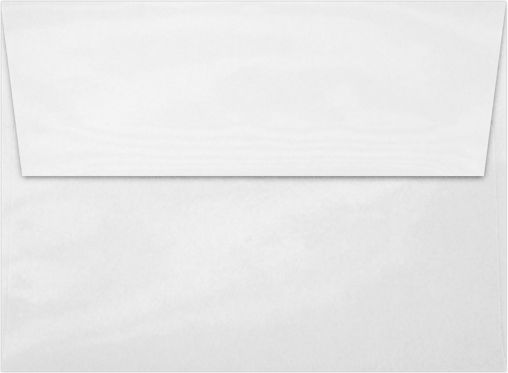 A7 Invitation Envelopes (5 1/4 x 7 1/4) Glossy White