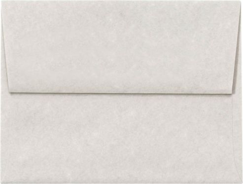 A2 Invitation Envelopes (4 3/8 x 5 3/4) Gray Parchment