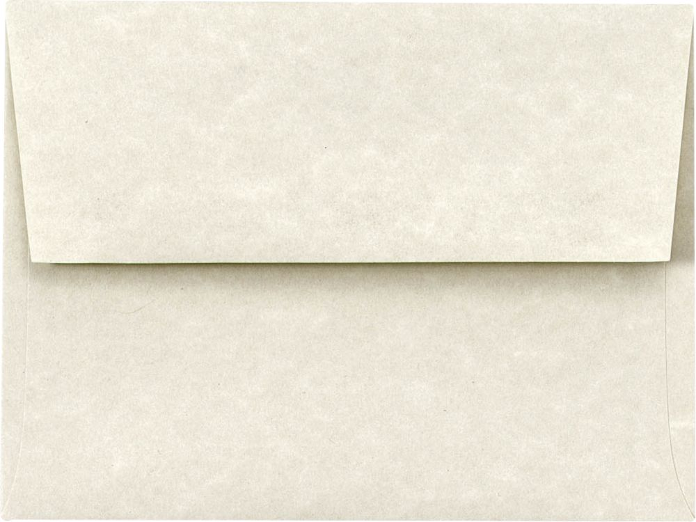 A6 Invitation Envelopes (4 3/4 x 6 1/2) Cream Parchment