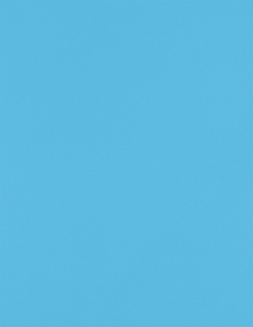 8 1/2 x 11 Cardstock Bright Blue
