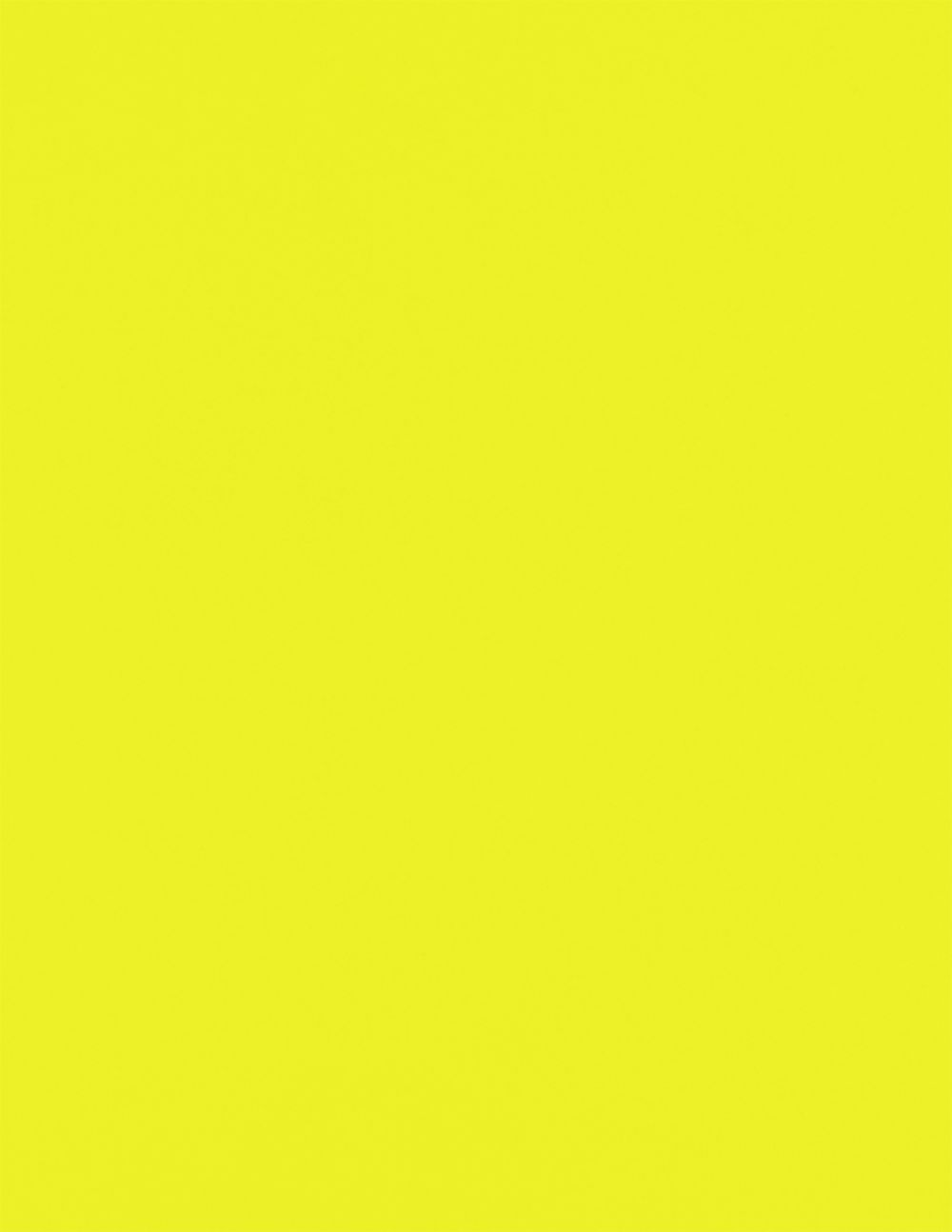 8 1/2 x 11 Cardstock Electric Yellow
