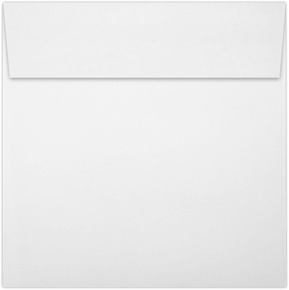 6 1/2 x 6 1/2 Square Envelopes White - 100% Recycled