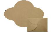 A7 Petal Invitations Envelopes
