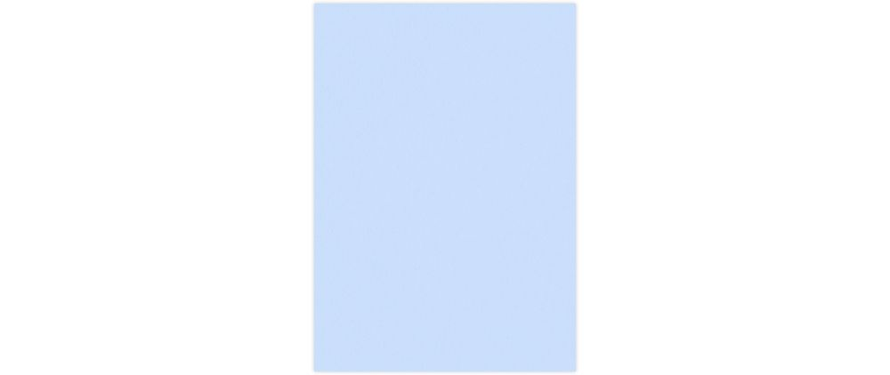 A7 (4 3/4 x 6 3/4) Base Layer Card Baby Blue