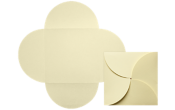 6 1/4 x 6 1/4 Petal Invitations Envelopes