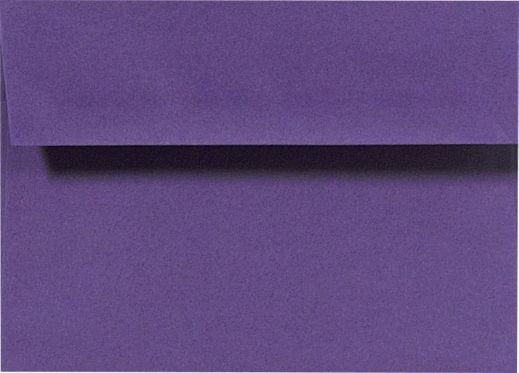 A9 Envelopes (5 3/4 x 8 3/4) Deep Purple