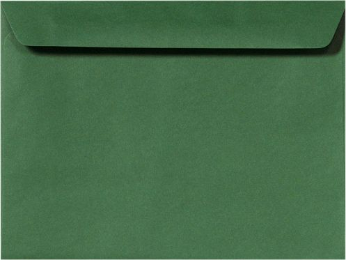 9 x 12 Booklet Envelopes Racing Green