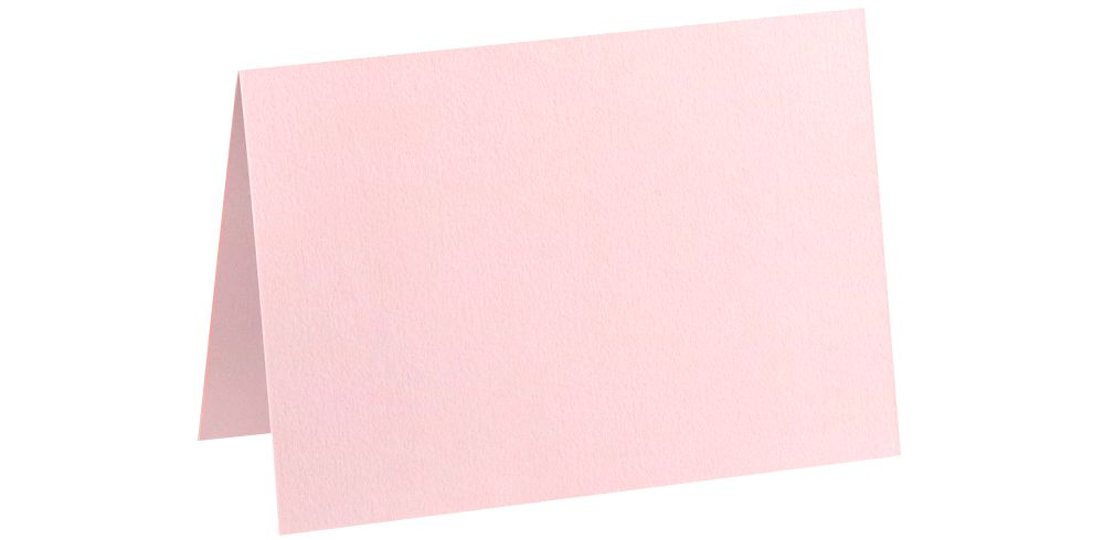 A6 Folded Card (4 5/8 x 6 1/4) Candy Pink