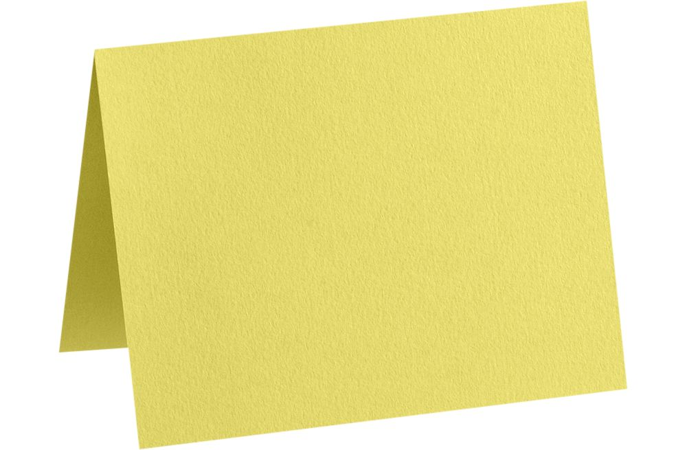 A7 Folded Card (5 1/8 x 7 Folded Size) Split Pea