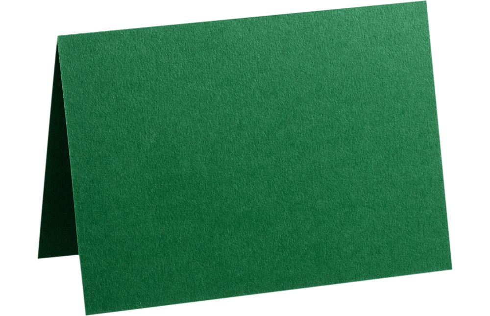 A9 Folded Card (5 1/2 x 8 1/2) Racing Green