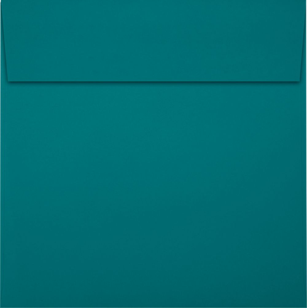 6 1/2 x 6 1/2 Square Envelopes Teal