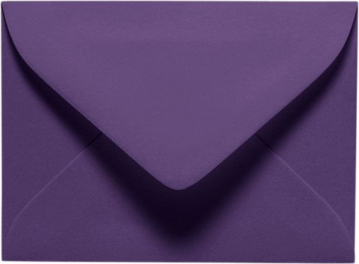 #17 Mini Envelope (2 11/16 x 3 11/16) Deep Purple