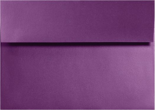 A2 Invitation Envelopes (4 3/8 x 5 3/4) Purple Power