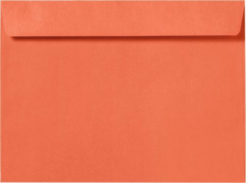 9 x 12 Booklet Envelopes Bright Orange