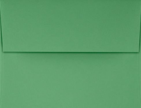 A2 Invitation Envelopes (4 3/8 x 5 3/4) Holiday Green