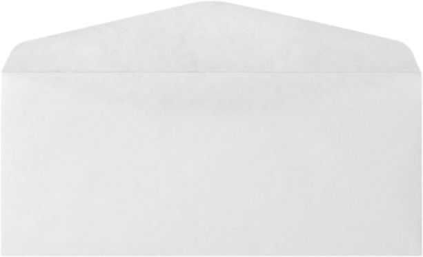 #10 Regular Envelopes (4 1/8 x 9 1/2) 24lb. FSC Certified - White