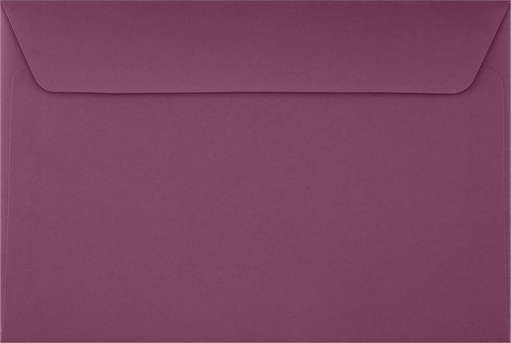 6 x 9 Booklet Envelopes Vintage Plum