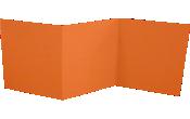 6 1/4 x 6 1/4 Z-Fold Invitation