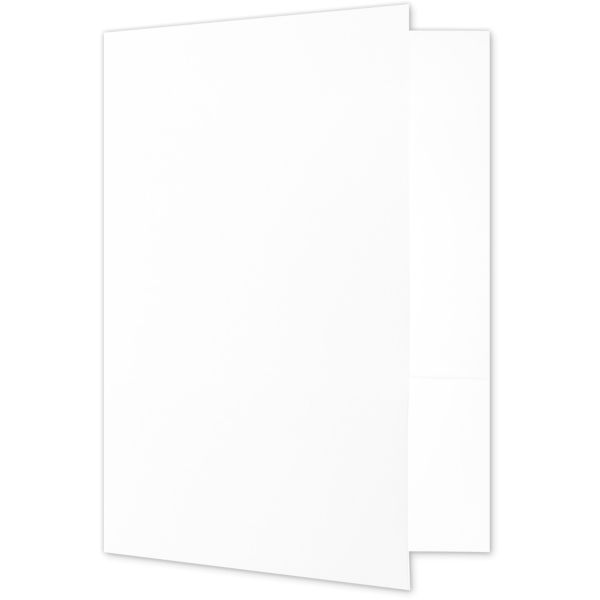 Quick Ship - 4Color Folders Bright White