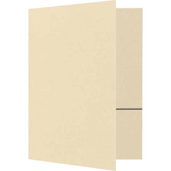 Quick Ship - 4Color Folders Antique Natural