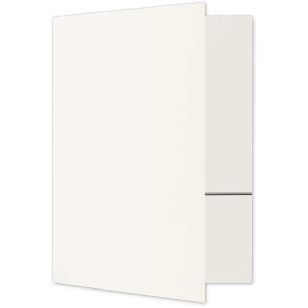 Quick Ship - Foil Stamped Folders Bright White
