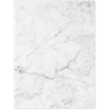 Quick Ship - Foil Stamped Folders White/Gray Marble