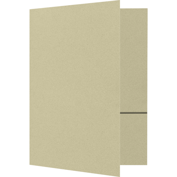 Quick Ship - Foil Stamped Folders Sage Green