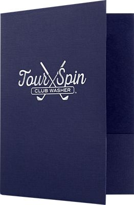 9 x 12 Presentation Folders - Quick Ship Foil Stamping 3 Day
