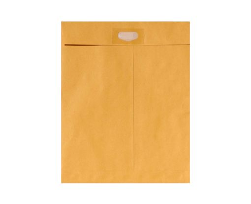 10 x 13 Spot Seal Envelopes 28lb. Brown Kraft