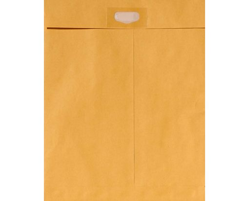 9 x 12 Spot Seal Envelopes 28lb. Brown Kraft