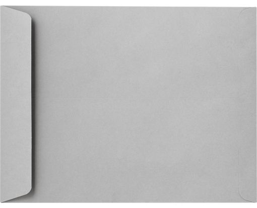 9 x 12 Open End Envelopes Gray Kraft