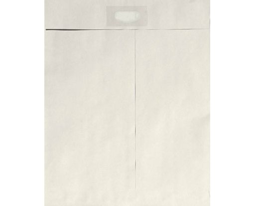 9 x 12 Spot Seal Envelopes Gray Kraft