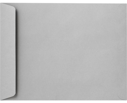 10 x 13 Open End Envelopes Gray Kraft