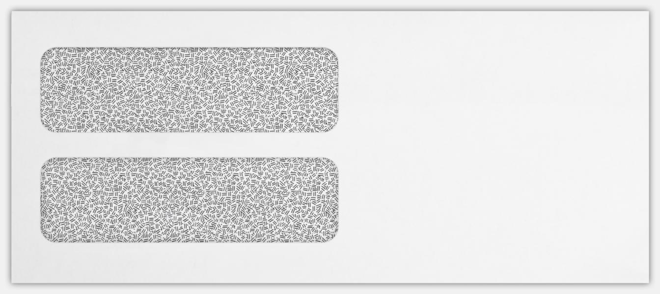 24lb. White w/ Security Tint 4 1/8 x 9 1/2 Envelopes | Window | (4 1 ...