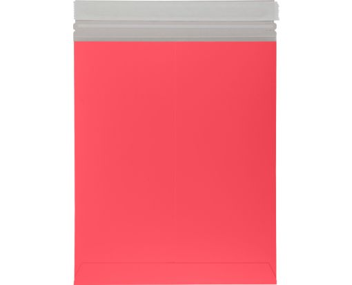 11 x 13 1/2 Colored Paperboard Mailers Holiday Red