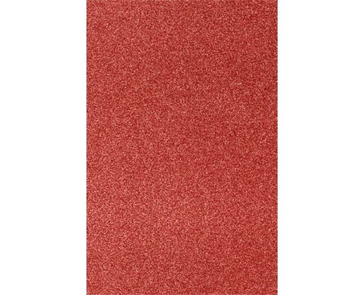 11 x 17 Cardstock Holiday Red Sparkle