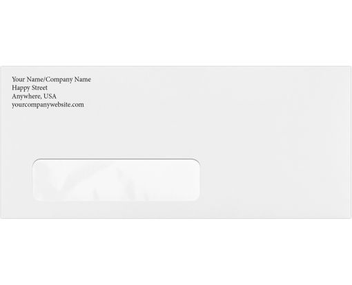 #10 Window Envelopes (4 1/8 x 9 1/2) 24lb. Bright White