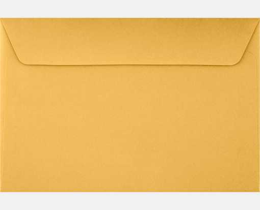 6 x 9 Booklet Envelopes 28lb. Brown Kraft