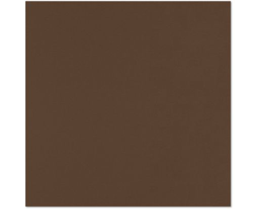 12 x 12 Cardstock Chocolate