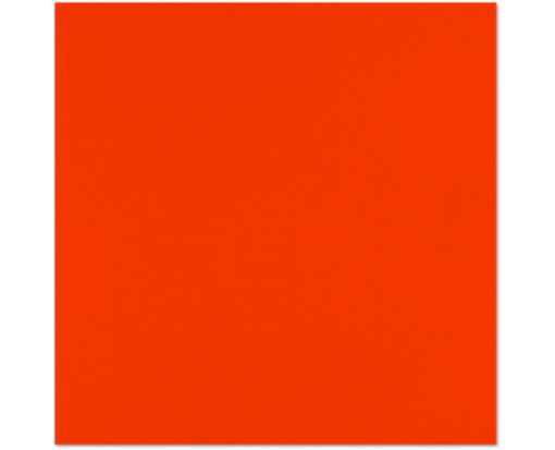 12 x 12 Cardstock Neon Red-Orange