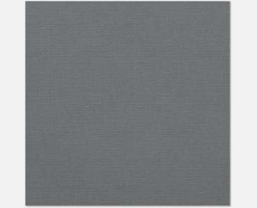 12 x 12 Paper Sterling Gray Linen