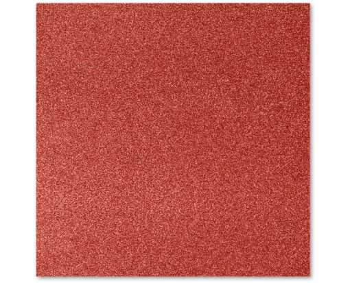 12 x 12 Paper Holiday Red Sparkle