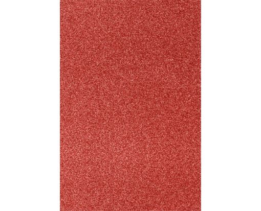12 x 18 Cardstock Holiday Red Sparkle