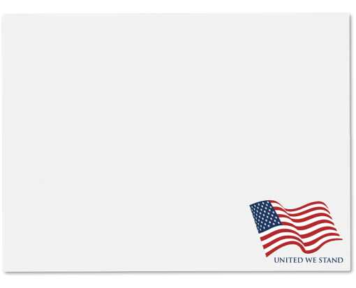 9 x 12 Booklet Patriotic