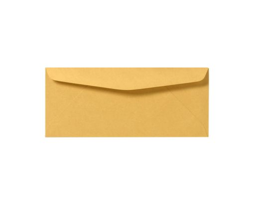 #12 Regular Envelopes (4 3/4 x 11) 28lb. Brown Kraft