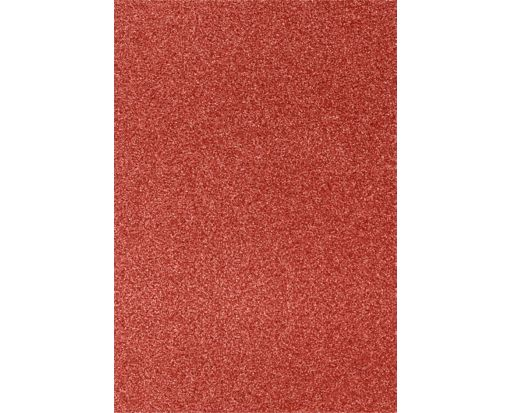 13 x 19 Cardstock Holiday Red Sparkle