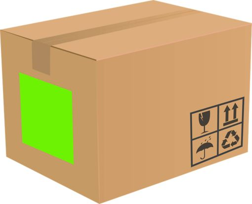 8.5 x 11 Full Sheet Rectangle Labels, 1 Per Sheet Fluorescent Green